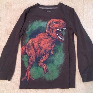 Carter's T-Rex L/S boy's tee